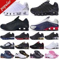 36-45 Descuento Shox TL Hombres Zapatillas de correr Chaussures Velocidad al aire libre Neymar Trainers Enigma Triple Blanco Blanco Silver Para Mujer Deportes Zapatillas deportivas