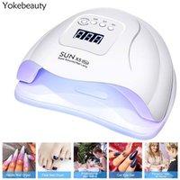 Sun X5 Plus Asciugacapelli UV LED per manicure 10/30/60/99S Timer Lampada per secchio per smalto smalto