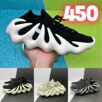 Kanye West sapatos com a caixa Homens Mulheres nuvem branca corrida reflexivo Shoes Citrin preto estática zebra gergelim sapatos desportivos Treinamento Jogging
