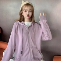 Women's Jackets Fried Street Sweater For Women 2021 Loose Korean Style Spring And Autumn Thin Fashionable Ins Super CEC Salt Coat
