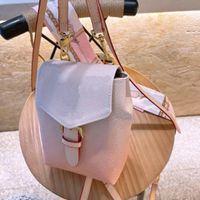Tiny Son Tasarımcılar Sırt Çantası Yaz Degrade Pembe Luxurys Marka Shoera Okul Çantaları 2021 Moda Lady Stil Yüksek Kalite PinkWholesale