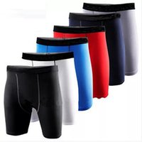 Running Shorts Fitness Tights For Men Stitching Mens Short Pant Outdoor High Elastic Breathable Clothes Soccer