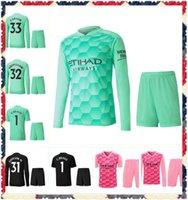 Gardien de but 2021 Manchester Kun Aguero 20 21 Maillots de football Silva Maillot Ederson M. Chemise de football Grimshaw Hommes Kits Camiseta