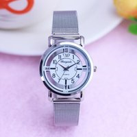 Chaoyada Women Ladies Fashion Transparent Tempered Glass Hollow Quartz Watches Female Stainless Steel Waterproof Wristwatches