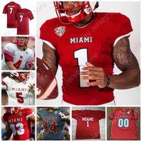 Miami (OH) Redhawks Jersey de fútbol Ncaa College Ben Roethlisberger Brett Gabbert Jaylon Bester Shelton Sorenson Maye Walker Pace Jr. Butler