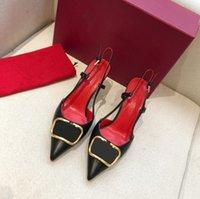 Женщины на высоком каблуке сандалии красные свадебные туфли натуральная кожа металла V прядь одиночный сексуальный заостренный носок