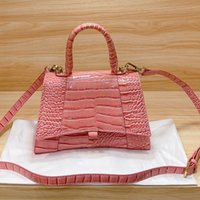 Роскошный дизайнер женские модные песочные часы сумка кошельки кошелек на плечо леди все матч классический крокодил узорные сумки женские женские сумки