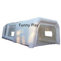 Tents And Shelters Practical Movable Inflatable Spraying Tent Giant Paint Booth Portable Car Painting