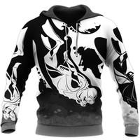 Women's Hoodies & Sweatshirts Fashion Harajuku Sweatshirt Scuba Diving Sports 3D Full Print Hoodie Zip Jacket Unisex Casual Streetwear HRF8