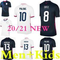 Weltcup PULISIC Fussball Jersey Ertz Bradley Pugh Lloyd Altidore 2021 Holz America Football Jerseys United States Hemd Camisetas