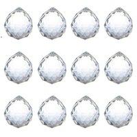 40 mm bola de cristal prisma cristal de cristal bola de cristal araña decoración colgante facetado prisma bolas bolas cuentas boda casa decoración bwb8808
