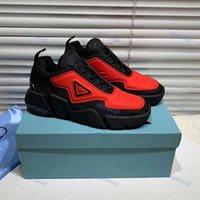 Prada shoes Chaussures pour enfants Top Qualité Hommes et Femmes Haut-Top Casual Lates Pum Cloudbust Thunder Series Triangle Modèle Design Sneakers surdimensionné 35-46