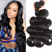 Straight Human Hair Bundles 1 3 4 Pcs Lot Sew In Extensions Natural Black 8-30 inch