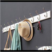 Hooks Rails Housekeeping Organization Home & Gardenhook Hanging Hook Door Clothes Porch Coat Wall Hanger Storage Multifunction Bathroom Drop