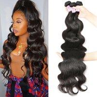 Ylove Body Wave Bundles 30 Inch Human Hair Bundles Natural Color Virgin Remy Hair 1 3 4 Bundles Hair Weave Extensions