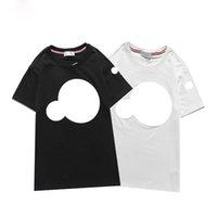 Tasarımcı Erkek Monclus HORT Eşofmanlar Lüks Kadın T-shirt Ve Şort Yaz Pantolon Jogger Suits Baskı Pamuk Spor Erkek Giyim