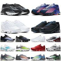 nike air max tuned 3 airmax tn plus 2 أفضل الأزياء أصيلة 2021 وصول تم ضبطها 3 Tn Plus 2 احذية الجري أزرق ملكي عميق Hasta ثلاثية أسود أبيض أحذية رياضية خارجية 36-46
