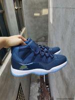 Yeni 11 Düşük Legend Mavi 11 Beyaz Sreted Mavi Basketbol Sneakers 11s Concord Uzay Reçeli Spor Red Ucuz Ayakkabı Erkek Spor Ayakkabı