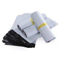 10 حجم جديد البلاستيك بولي الذاتي ختم الذاتي لاصق اكسبريس حقيبة الشحن الأبيض البريد السريع البريد البريد حزمة البريد البريد البريد البريد 566 S2