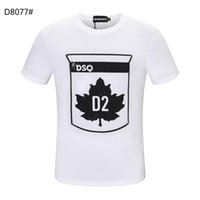 DSQUARED2 DSQ PHANTOM TURTLE SS Mens Designer T shirt Italian fashion Tshirts Summer DSQ Pattern T-shirt Male High Quality 100% Cot Mqu
