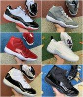 2021 Top Jumpman 11 Zapatillas de baloncesto 11s Jubileo 25 aniversario 23 Concord 45 Cítricos Cap y Vestido Jordán Gamma Blue Pantone Cool Grey Gan Like 96 Sports Sneakers