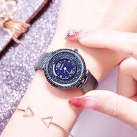 Relógios de diamante Moda Guou em toda a tendência de lazer Star Sky Watch Belt Waterproof Quartz Mulheres