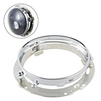 """Andere Beleuchtungssystem 7 """"LED-Scheinwerferhalter-Montagehalterung-Trennring für 7-Zoll-Runder-Scheinwerfer-Light Motorcle-Autozubehör (1pcs / 2pc"""