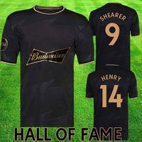 Hall of Fame Football Kit de football Alan Shearer Thierry Henry Soccer Jersey Célèbre Shirts Britanniques Start Chemises 2021 Kits Englishman Stars Équipement uniforme