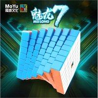 MOYU MEILONG 7X7X7 Magic Cube 7x7 Puzzle Cubo Magico Jouets éducatifs Cubes Cubes Speed Cube
