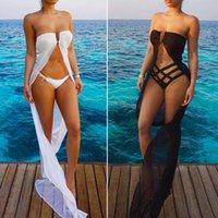 Şifon Plaj Kapak Up Sarong Wrap Pareo Elbise Mayo Plaj Hırka Feminino Swim Suit Baskılı Mayo Kapak Ups Pareo Beach Tunik