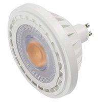 ES111 Spotlight Ampoule 12 W AR111 Lampe, utilisée pour remplacer la lampe halogène de 95W de 1200LM AC 85-265V ampoules LED
