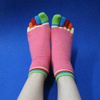 Спортивные носки открытые носки нескользящие дышащие клюдеры дезодорант новый стиль сладкий стиль популярен с молодыми женщинами носок 5 цветных пальцев 30WD