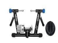 معدات تدريب الدراجة Uniskyy ركوب الوقوف مقاومة السوائل دراجة داخلي القرطاسية الصلب المدرب الثقيلة يناسب ل 26-29 بوصة، 700C عجلة الضوضاء الحد
