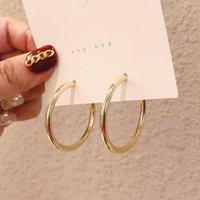 Hoop & Huggie Earrings Womens Sterling Silver Ear Rings Stud Vintage Jewelry Small Round Metal Girls