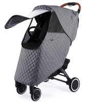Stroller Parts & Accessories Universal Winter Rain Cover Windproof Thicken Warm Coat For Pushchairs Waterproof Baby
