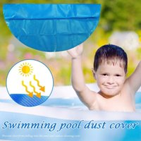 Pool & Accessories 3.6m Diameter Solar Cover With Heart Pattern Mat Outdoor Bubble Blanket For Inflatable Above Ground