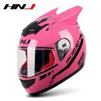 Мотоциклетные шлемы розовый внедорожный шлем Полное лицо мотокросс аварийного понижающего спуска аксессуары Casque Enfant Capacete
