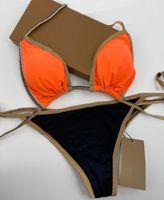 Femmes Sexy Bikinis Sous-vêtements Summer Designer Maillot de bain avec lettres Fashion Lady Maillot de bain Two-Pièce Baignage Support de haute qualité