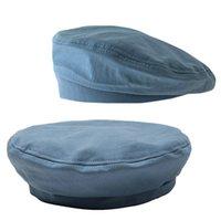 ريترو القطن قبعة النساء كاب الإناث السيدات قبعة البيريه الفتيات لفتيات الصيف والخريف رقيقة