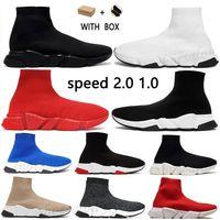 balenciaga balenciaca balanciaga  designer sock sports speed 2.0 trainers trainer luxury 2021 women men runners shoes trainer sneakers  sapatos