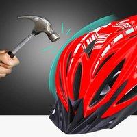 Casques de cyclisme Casque de vélo U Road Ultralight EPS + PC Couverture PC Vélo Vélo Vélo intégré-moule en toute sécurité