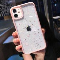 Glitter Star Sequins Bling Fashion Designers Casi del telefono Coque iPhone 13 Pro Max Cover Case Iphone 12 11 Pro Max XS XR x 7 8 Plus Mini Antiurto Antiurto