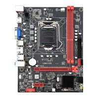 Precio de fábrica Top Calidad LGA 1155 I3 I5 I5 I7 B75 Placa base de escritorio para la venta