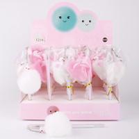 Pen Coréen Unicorn Flamingo Pays Lapin Cheveux Ballon Dant Neutre Étudiant Créativité Eau Base BP-1219