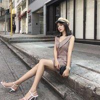 Stil Günlük Elbiseler Hepburn Üç Boyutlu Çiçek Tomurcuk O-Şekilli Salıncak Fransız Platycodon Grandiflorum Bel Kapanış İnce Mizaç Ekose Elbise Lin