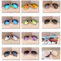 الفاخرة مصمم نظارات 10 قطع بوثية الأزياء مرآة العلامات التجارية UV400 في القيادة في الهواء الطلق الرجال النساء خمر طلاء نظارات الشمس