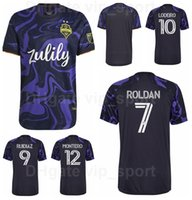 Seattle Sounders Fussball Jersey 2021-2022 FC 9 Ruidiaz 7 Roldan 11 Smith 12 Montero 17 Bruin 6 Joao Paulo Nouhou Football Hemd Kits