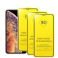 9D Full Glue Tempered Glass Complete Coverage Screen Protector Film For iPhone 13 12 11 Pro Max X XR XS No Package