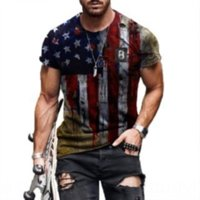 KVKD Kollu Erkekler Tişörtleri Rahat Gevşek Uzun Erkek Çizgili Tasarımcı Erkek Erkekler Tişörtleri Tişörtleri Yaz Man S Boyun Lüks Tees O Dener Tops
