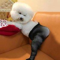 Pet Mesh Socks Elastic Fun Creative Pets Stockings Po Props Funny Cotton Soft Dog Clothing Apparel